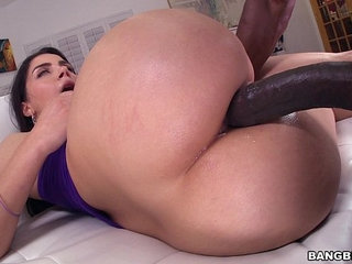 Monster Dick in Her Italian Ass