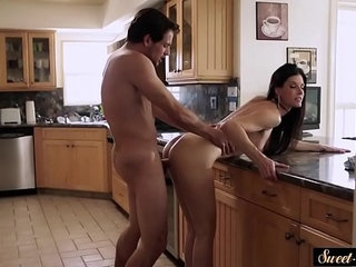 Amazing milf pounded by her horny stepson