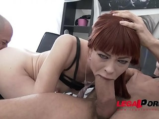 Redhead alexa nova anal and deepthroat super slut first time gonzo
