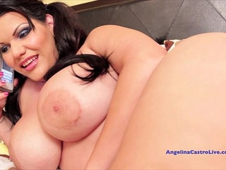 Angelina castro give the best pov blowjob and gets cumshot
