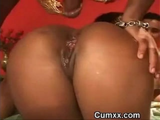 Ghetto Booty Double Penetrated